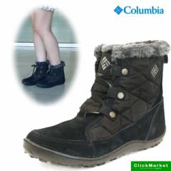 [送料無料]コロンビア Columbia Minx Shorty Omni-Heat BL1593-010 ミンクス ショーティー 防寒 ブーツ