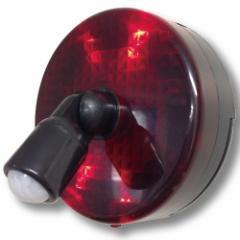 スーパーパトピカ (高感度人感センサー,防犯対策,警告,アラーム,LEDライト)