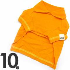 ブギウギポロシャツ オレンジ 10号☆