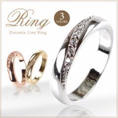 ペアリング 指輪 レディース シンプル 送料無料 エタニティ ピンクゴールド ピンキーリング ≪ゆうメール便配送10・代引不可≫