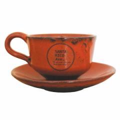 サンタリコ クラシック おしゃれ カップ&ソーサー  陶器 ティーカップ コーヒーカップ 日本製 美濃焼