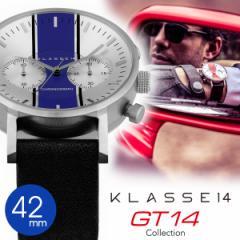 正規販売店 2年保証 KLASSE14 クラス14 42mm クロノグラフ 腕時計 GT14 CHRONOGRAPH VO15CH008M VO15CH009M