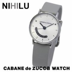 CABANE de ZUCCa【カバンドズッカ】 腕時計 NIHILU ニヒル AJGJ022 AJGJ023 レザーベルト MZ99