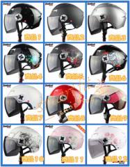 バイクヘルメット  半キャップ  男女共用ヘルメット  多色選択  春、夏、秋 PSC付き Tanked-T505 送料無料