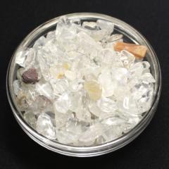 【天然石 さざれ】浄化用チップ 200g ヒマラヤ水晶 (小粒) ※ネコポス不可※ パワーストーン