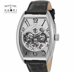 ゾンネ × ハオリ SONNE HAORI PRODUCED H015SS-BK  メンズ 腕時計  自動巻き リストウォッチ 岩城滉一