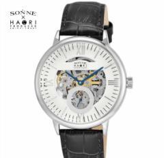 ゾンネ × ハオリ SONNE HAORI PRODUCED H014SS-SV  メンズ 腕時計  自動巻き リストウォッチ 岩城滉一