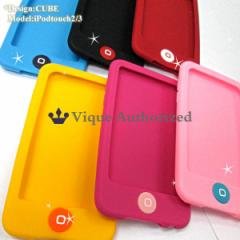 iPodtouchケースカバーシリコンラバータイプCUBE-T3 【iPodtouch第2・第3世代専用アイポッドタッチケース】