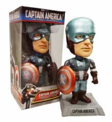 キャプテンアメリカ(The First Avenger)ボビングヘッド/アメリカ雑貨アメリカン雑貨アメコミボビング