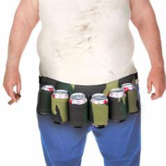 ビアホルスターベルト/ビール携帯キャンプアウトドア持ち運び便利アメリカン雑貨アメリカ雑貨
