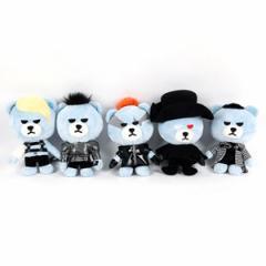 (先払いのみ)韓国スターグッズ BIGBANG(ビッグバン)KRUNK X BIGBANG MONSTER VER.  YGベア ぬいぐるみ(5種1択)