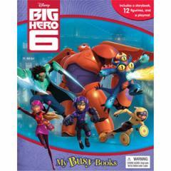 (英語版)海外書籍 「Big Hero 6:My Busy Books(ビッグ・ヒーロー・シックス マイ ビジーブック)」 (本+ミニフィギュア12種)