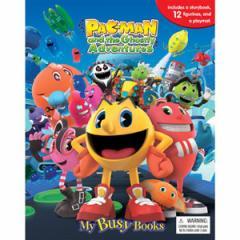 (英語版)海外書籍 「Pac-Man and the Ghostly Adventures:My Busy Books(パックマン マイ ビジーブック)」 (本+ミニフィギュア)