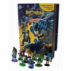 (英語版)韓国書籍 「Batman My Busy Book(バットマン マイ ビジーブック)」(本+ミニフィギュア12種)