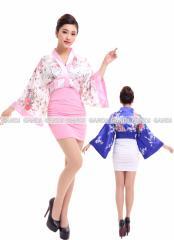 浴衣 ラインアップ浴衣 ミニワンピ浴衣 花魁 ワンピース 花魁ドレス 和服コスプレ コスチューム コスプレ 4016
