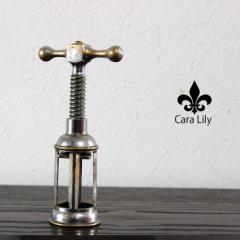 [あす着]アンティーク 1900年初頭の製品 コルク抜き ワインオープナー 置物 オブジェ イタリア製 雑貨 ca04