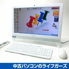 富士通 液晶一体型PC/Windows7/AMD E2-1800 APU/RAM4GB/HDD1TB/DVDマルチ/20型ワイド/無線LAN/地デジ/FMV EH30/HT 中古PC 2030
