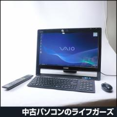 SONY 液晶一体型PC/Windows7/Core i5-450M/RAM4GB/HDD1TB/ブルーレイ/21.5型ワイド/タッチパネル/無線LAN/office付/VAIO VPCJ119FJ 2326