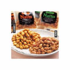 JAL ドライなっとう DRYNatto Fermented Soybeans 梅風味10包 一味唐辛子味10包 日本空港
