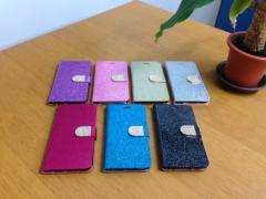 送料込み!iPhone6 plus用『キラキラ★ラメラメ』手帳型ケース 選べる7色 iPhone アイフォン 簡易梱包料金値下げ!
