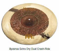 """MEINL/シンバル B22DUCR(22"""" Byzance Extra Dry Dual Crash-Ride)【マイネル】"""