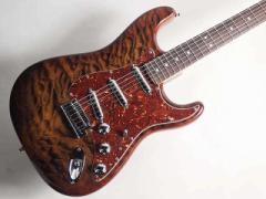 Fender Custom Shop/Quilt Maple Top Artisan Stratocaster, RW, Tigereye【フェンダー】
