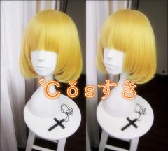 コスプレウイッグ 監獄学園プリズンスクール 緑川 花 cosplay wig 耐熱 変装用 ネット付 かつら