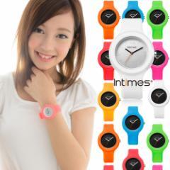 INTIMES(インタイムス) 着せかえられるシリコンウォッチ シチズン日本製ムーブ搭載 レディース アナログ 腕時計 IT092