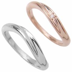 刻印無料 シルバー ダイヤモンド ペアリング マリッジリング 結婚指輪 メンズ&レディース 雑誌掲載人気ブランド プレゼント推奨品