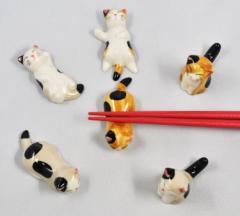 可愛い ねこの箸置き /ねこ/ネコ/猫/グッヅ /日本の伝統