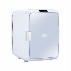 送料無料★TWINBIRD ツインバード 2電源式コンパクト電子保冷保温ボックス D-CUBE X HR-DB08GY■冷温庫 ミニ冷蔵庫 ポータブル冷温庫