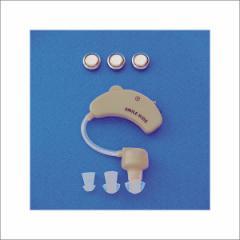 耳かけ集音器2 AKA-108■集音器 耳かけ 補聴器 電池 左右両耳対応