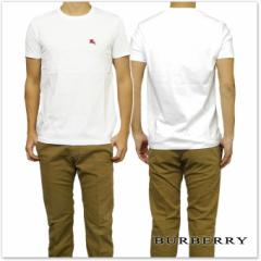 BURBERRY バーバリー メンズクルーネックTシャツ 3962490 ホワイト /2017春夏新作