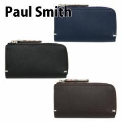 【送料無料】ポールスミス キーケース メンズ 4連 ジップストローグレイン ブランド 833920/P861N