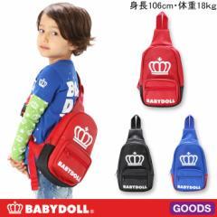NEW♪BDロゴボディバッグ-鞄かばんワンショルダーキッズベビードール 子供服-6575
