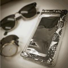 iPhone6/iPhone6s 対応【maiko sano(佐野真依子)/BLEA】「クリア手帳ケース」透明ケース/カバー (ip6-71712)