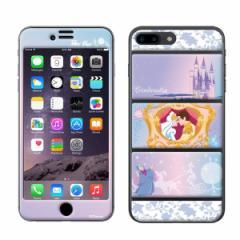 iPhone8Plus iPhone7Plus Gizmobies(ギズモビーズ)xDisney(ディズニー) 「Dreamy fantasy」 プロテクター シンデレラ プリンセス
