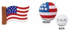 【アンテナボール】【アンテナトッパー】【USA・プライド・フラッグ】【フラッグタイプ】&【ボールタイプ】