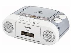 TOSHIBA CDラジカセ カセットテープ録音 CD再生 ラジオ  TY-CK2(H)