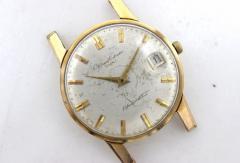 オリエント メンズ腕時計 金張り 21石 手巻き アンティーク
