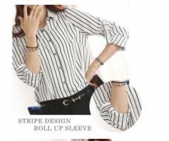 チュニック/ワイシャツ/ブラウス レディース/フォーマル/長袖 ビジネス スーツ /Tシャツ 開襟 カジュアル シフォン オフィス