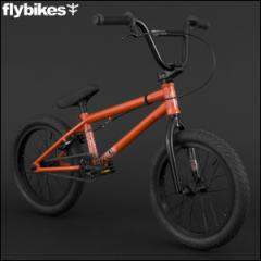 "BMX FLYBIKES フライバイクス 2016 ""NEO 16"" GLOSS RED キッズバイク 自転車 16インチ"