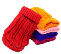 Knit Sweater カラフルニットセーター 犬服 ドッグウェア ペット服