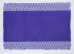 フィリピン Rowildas 手織り ランチョンマット 2枚組 パープル
