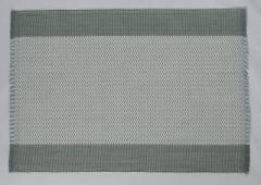 フィリピン Rowildas 手織り ランチョンマット 2枚組 グリーン グレイ