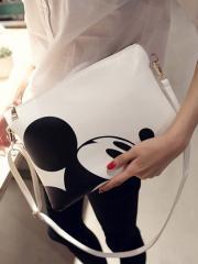 ミッキー ミッキーマウス クラッチ ショルダー バック 2WAY クラッチバッグ ショルダー 白財布