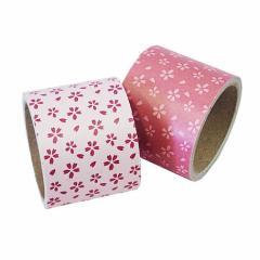 ラッピングや付箋がわりに、和柄(桜柄)ラッピングテープ ガムテープ