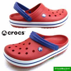 [送料無料]クロックス crocs Crocband 11016-6FT pepper/white クロックバンド クロッグ サンダル メンズ/レディース