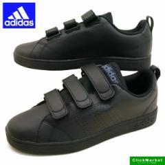 アディダス adidas VACLEAN2 CMF AW5212 黒 バルクリーン コンフォート ストラップ スニーカー メンズ