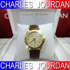 腕時計 メンズ CHARLES JOURDAN シャルルジョルダン 革 レザーベルト 腕時計 【送料無料】133216